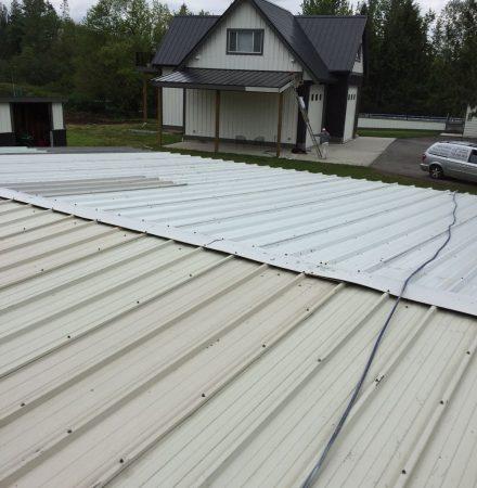 Metal Roofing Painting