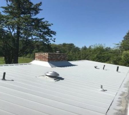 metal roof exterior painting